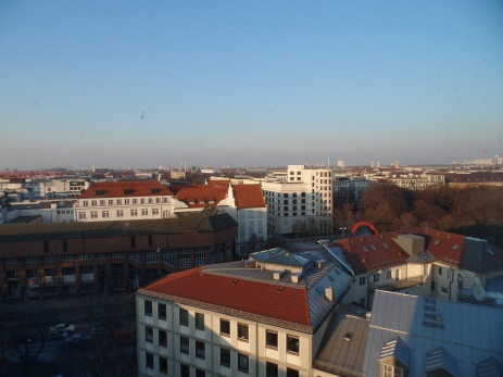 The view from our Munich Hotel room.