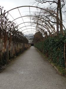 The arbor at Mirabelle palace.