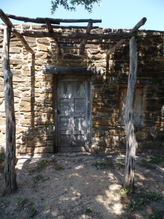 Door to living quarters, Mission San Jose