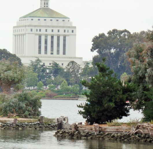 View of the Northern end of Lake Merritt