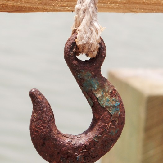 I liked the patina on this hook