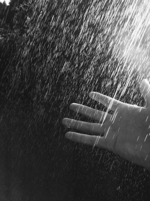 hands and water- they just go together